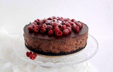 chocolade cheesecake