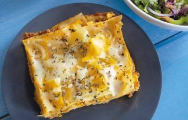 courgette lasagne met tonijn