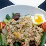 gezonde tonijnsalade