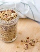 low carb granola maak je eenvoudig zelf met noten