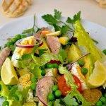 makreel uit de oven salade