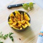 mango pudding met griekse yoghurt