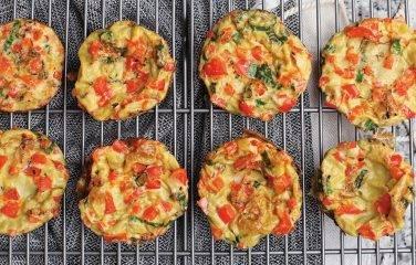 mini groente omelet