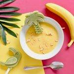 vanillepudding met banaan