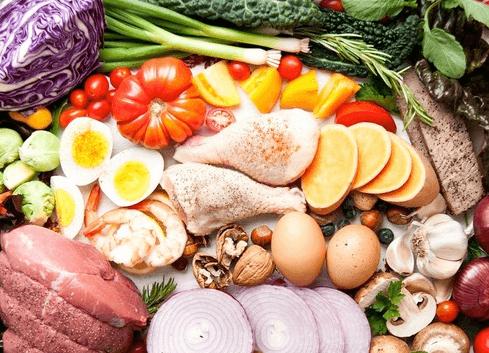 producten uit paleo dieet