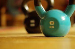 kettlebell helpt buitvet verbranden