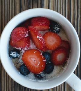 kwark ontbijt