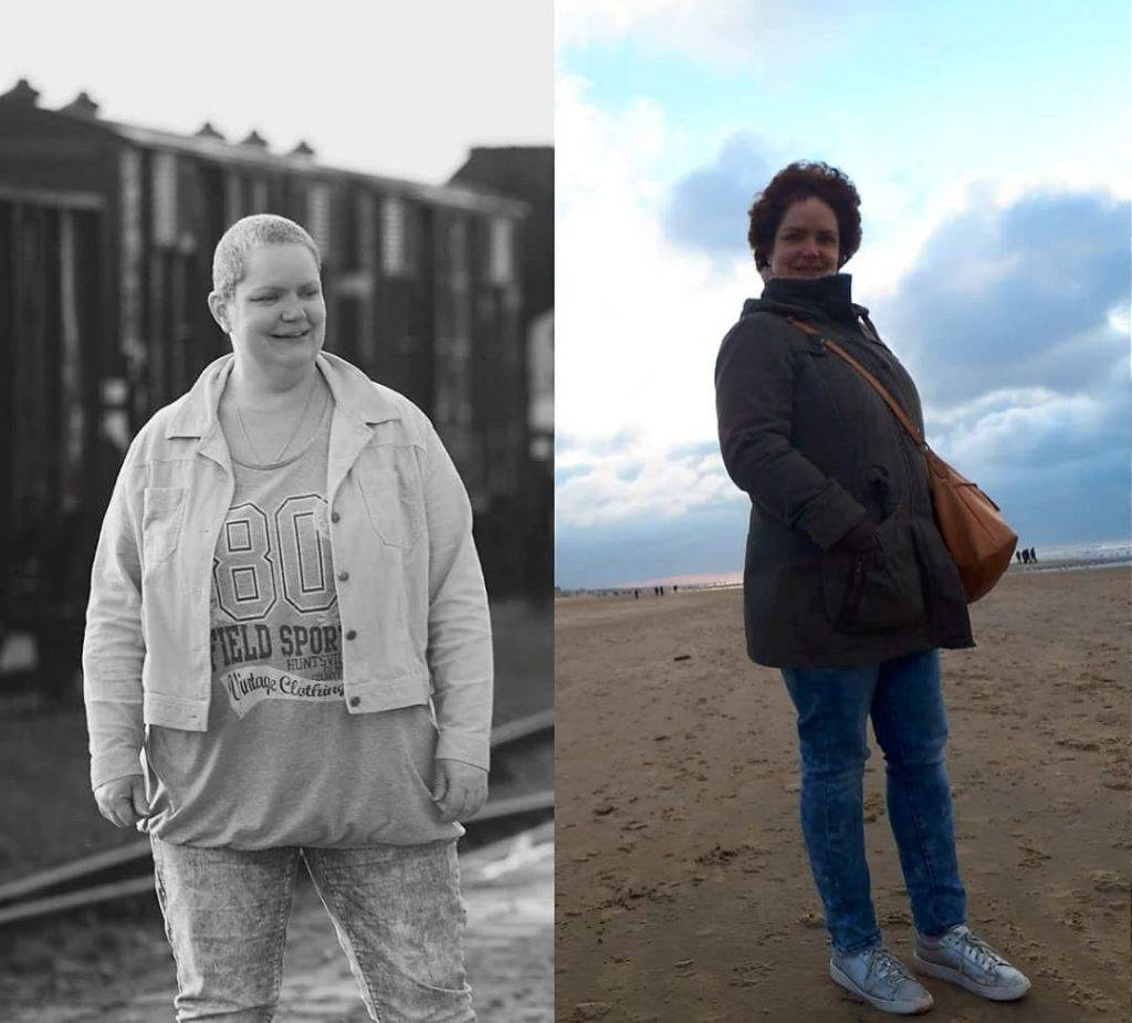 Ervaring met afvallen Nicoliene verloor 30 kilo