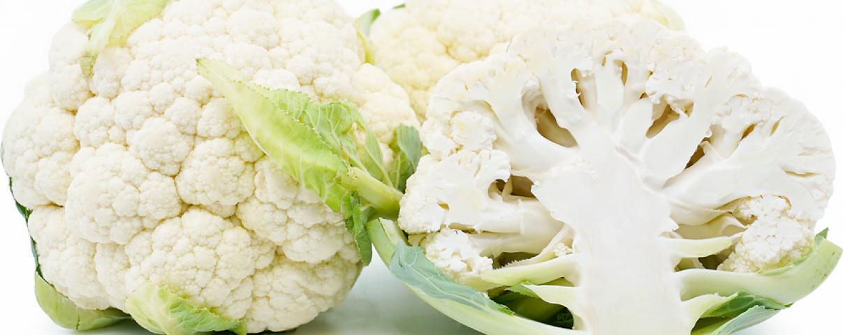 Bloemkool is een gezonde groente en past perfect in een koolhydraatarm dieet.