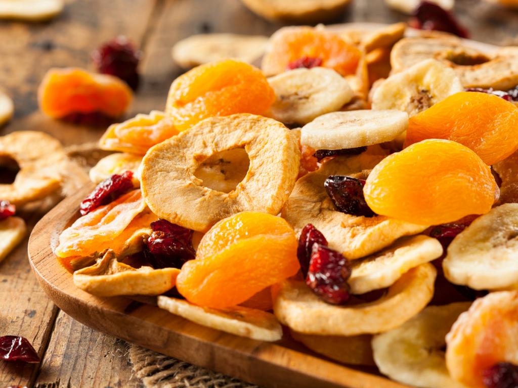 gedroogd fruit als lekker tussendoortje