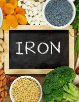 IJzertekort kan je voorkomen met voldoende ijzer uit voeding.