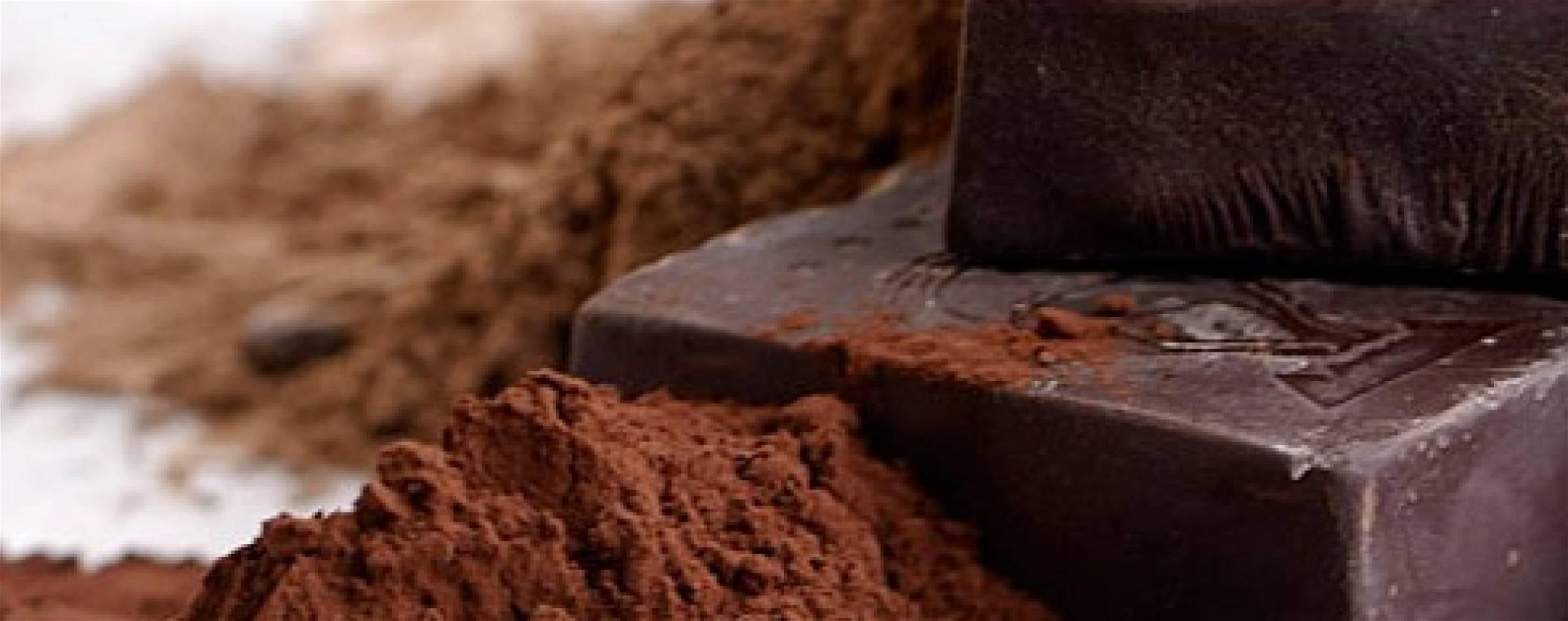 Rauwe chocolade en Afvallen