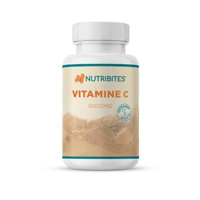 Vitamine C supplement van nutribites moet je niet teveel nemen