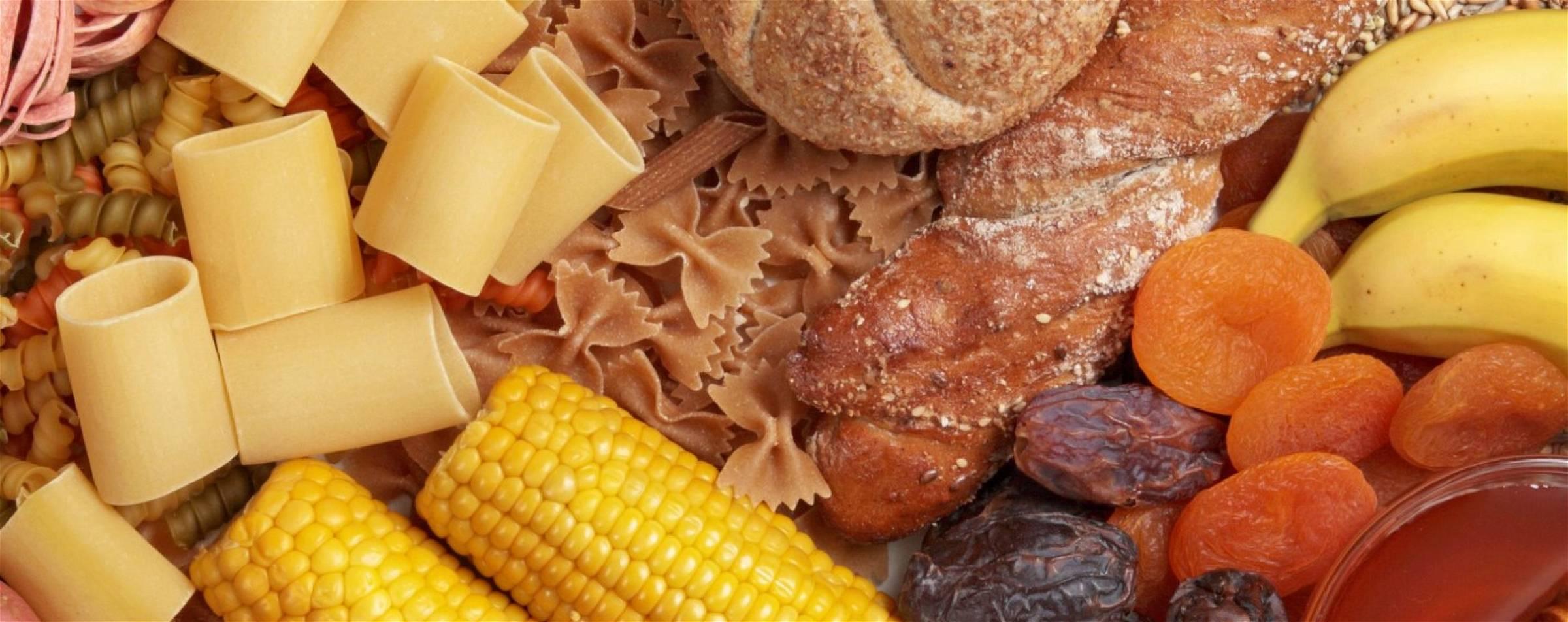 Voedingsmiddelen met te veel koolhydraten