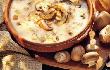 In dit aarpeer recept kan je de champignons meekoken of apart bakken.