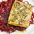 koolhydraatarm recept bieten noodles met tofu steak en dukkah