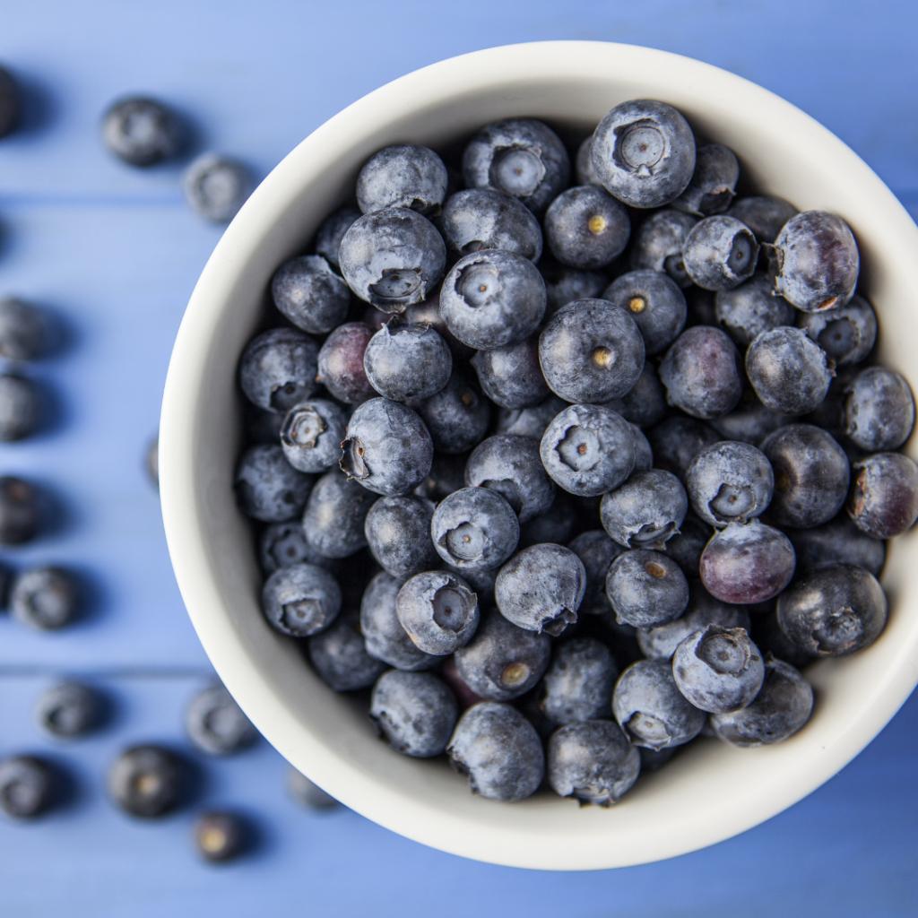 blauwe bessen resveratrol