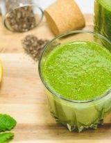 detox smoothie met spinazie en citroen