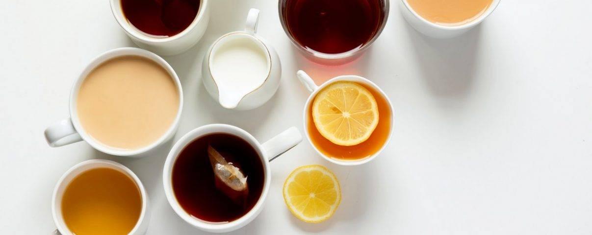 kopjes verschillende detox thee