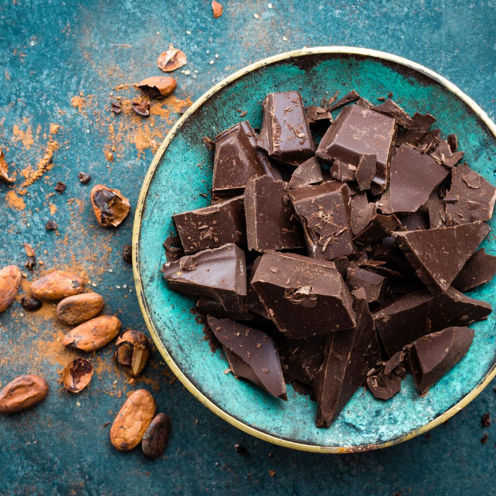 donkere chocolade endorfine