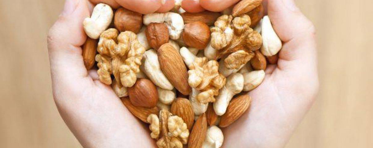 eet noten om af te vallen
