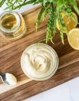 Gezonde mayonaise van olijfolie