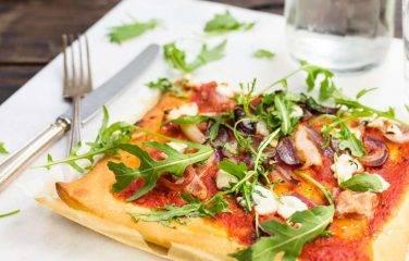 gezonde pizza maken makkelijk afvallen