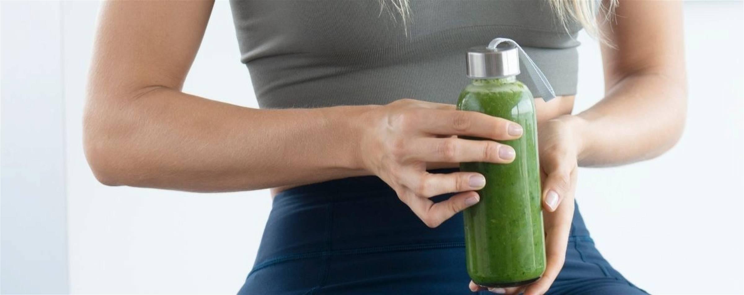 Het groente smoothie dieet