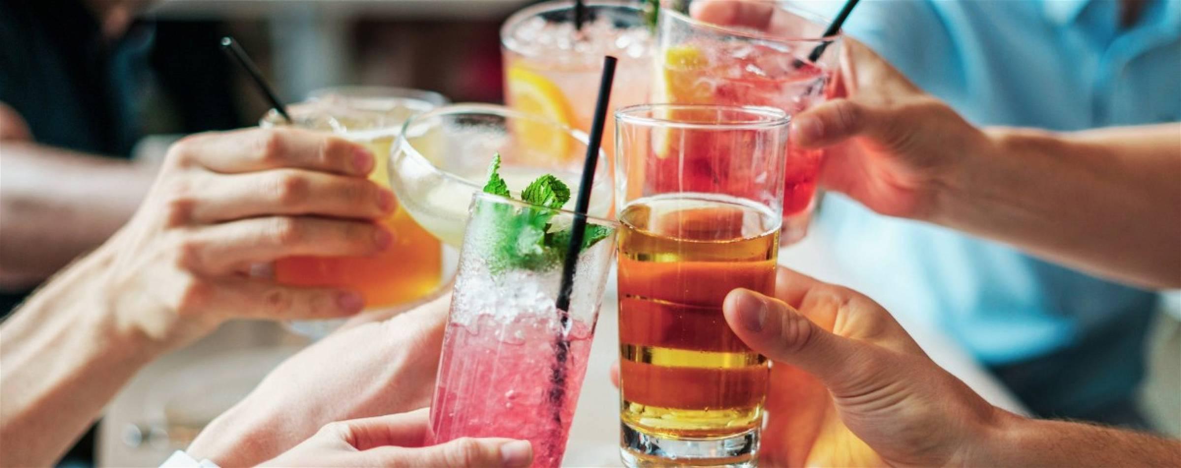 Alcoholische dranken en cocktails zonder alcohol