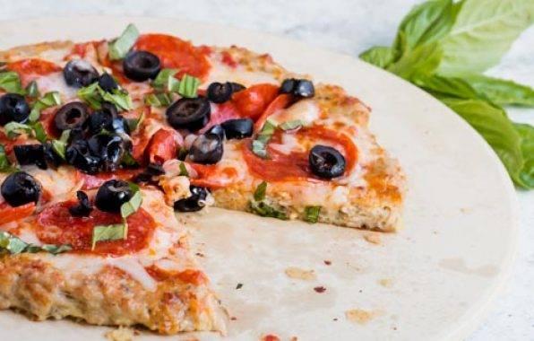 pizzabodem recept zonder koolhydraten is glutenvrij