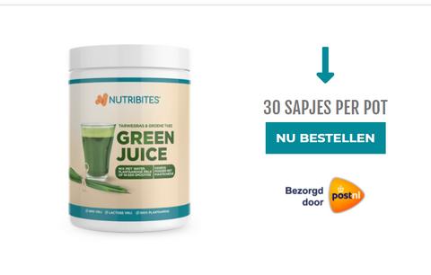 Pot met green juice sapjes bestellen