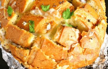 plukbrood maken met kaas en koolhydraatarm brood