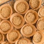 koekjes van gepofte quinoa en kokosolie