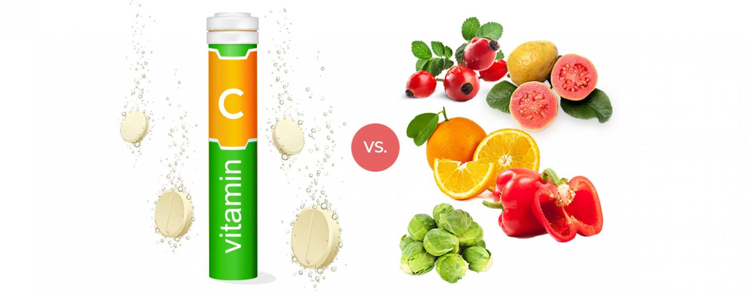Deze supplementen geven te veel vitamine C, terwijl je van groente en fruit voldoende binnenkrijgt.