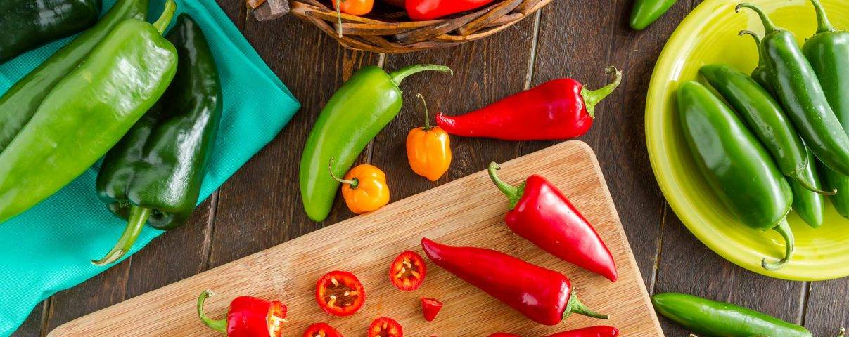 verbrand kilo's met hete chili
