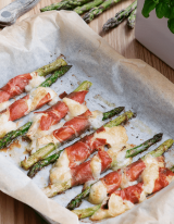 asperge voorgerecht met ham