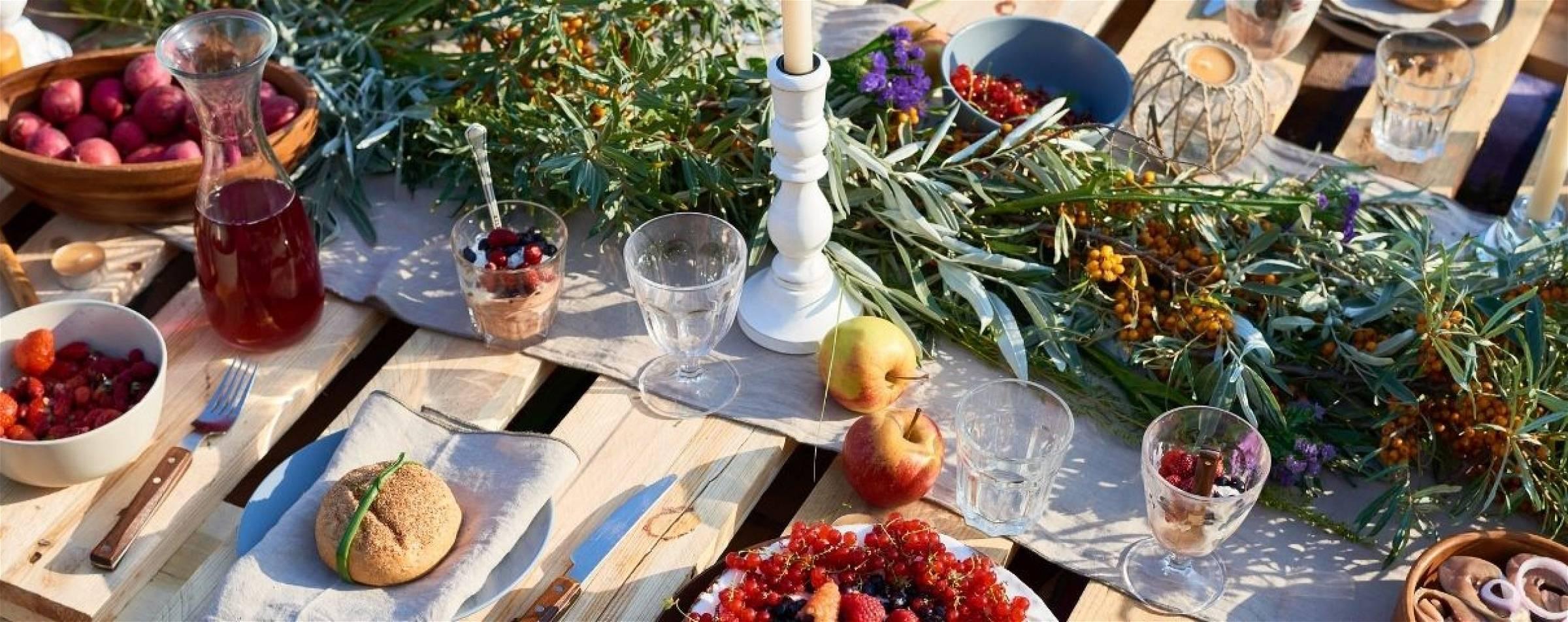 Overzicht van snelle zomerse gerechten die snel klaar zijn
